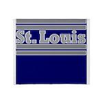 St. Louis Football Throw Blanket