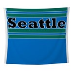 Seattle Football Wall Tapestry