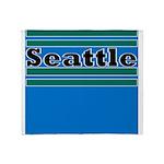Seattle Football Throw Blanket