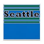 Seattle Football Tile Coaster