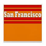 San Francisco Football Tile Coaster