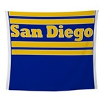 San Diego Football Wall Tapestry