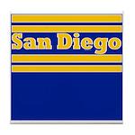 San Diego Football Tile Coaster