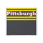Pittsburgh Football Throw Blanket