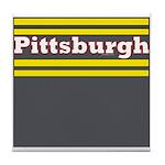 Pittsburgh Football Tile Coaster