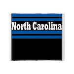 North Carolina Football Throw Blanket
