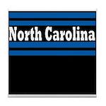 North Carolina Football Tile Coaster