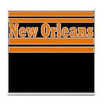 New Orleans Football Tile Coaster