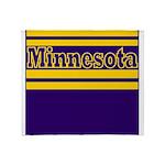 Minnesota Football Throw Blanket