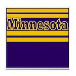 Minnesota Football Tile Coaster