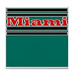 Miami Football Tile Coaster