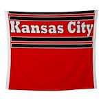 Kansas City Football Wall Tapestry