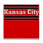 Kansas City Football Tile Coaster