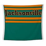 Jacksonville Football Wall Tapestry