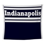 Indianapolis Football Wall Tapestry