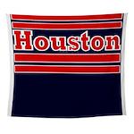 Houston Football Wall Tapestry