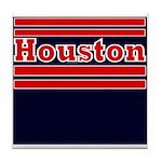Houston Football Tile Coaster