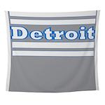 Detroit Football Wall Tapestry