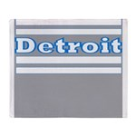 Detroit Football Throw Blanket