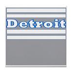 Detroit Football Tile Coaster