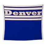 Denver Football Wall Tapestry