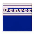 Denver Football Tile Coaster
