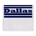 Dallas Football Throw Blanket