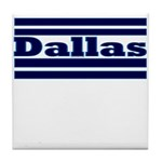 Dallas Football Tile Coaster