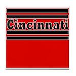 Cincinnati Football Tile Coaster
