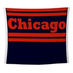 Chicago Football Wall Tapestry