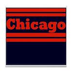 Chicago Football Tile Coaster