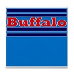 Buffalo Football Tile Coaster
