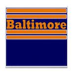 Baltimore Football Tile Coaster