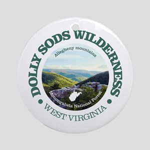 Dolly Sods Wilderness Round Ornament