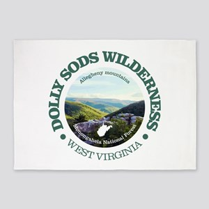 Dolly Sods Wilderness 5'x7'Area Rug