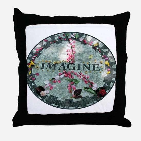 Cute Imagine Throw Pillow