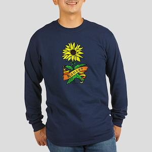 Kansas Pride! Long Sleeve Dark T-Shirt