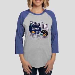 Reading Takes You Everywhere B Long Sleeve T-Shirt