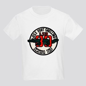 USS FORT SNELLING Kids Light T-Shirt