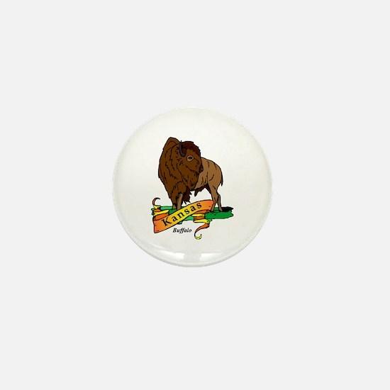 Kansas Pride! Mini Button
