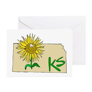 Kansas jayhawks greeting cards cafepress m4hsunfo