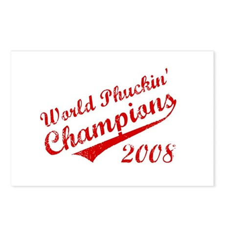 World Phuckin Champions 2008 Postcards (Package of