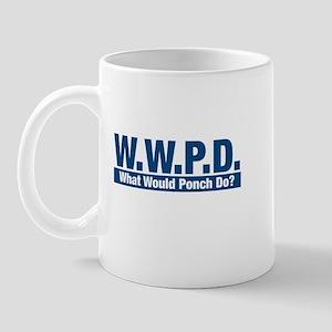 WWPD What Would Ponch Do? Mug