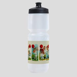 Cricket Players Sports Bottle