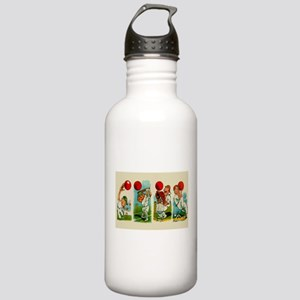 Cricket Players Water Bottle