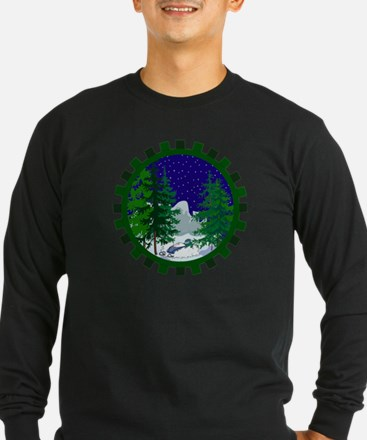Winter Snowmobile Christmas T