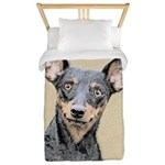 Miniature Pinscher Twin Duvet Cover