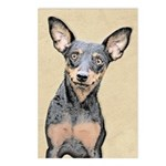 Miniature Pinscher Postcards (Package of 8)