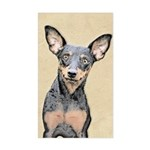 Miniature Pinscher Sticker (Rectangle)