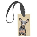Miniature Pinscher Large Luggage Tag